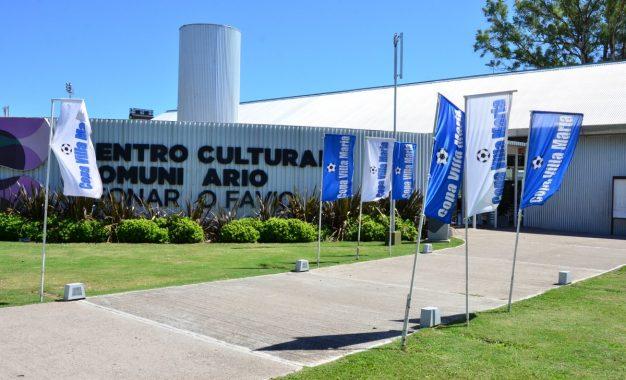 CENTRO DE RECEPCION DE LA COPA..!! El Centro Cultural Leonardo Favio..