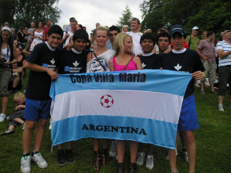 Tour 2009 – COPA VILLA MARIA En Storsjocupen, Delacarclia Cup y Pitea Summers