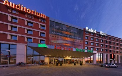 En Madrid el plantel se alojara en Auditorium Hotel..
