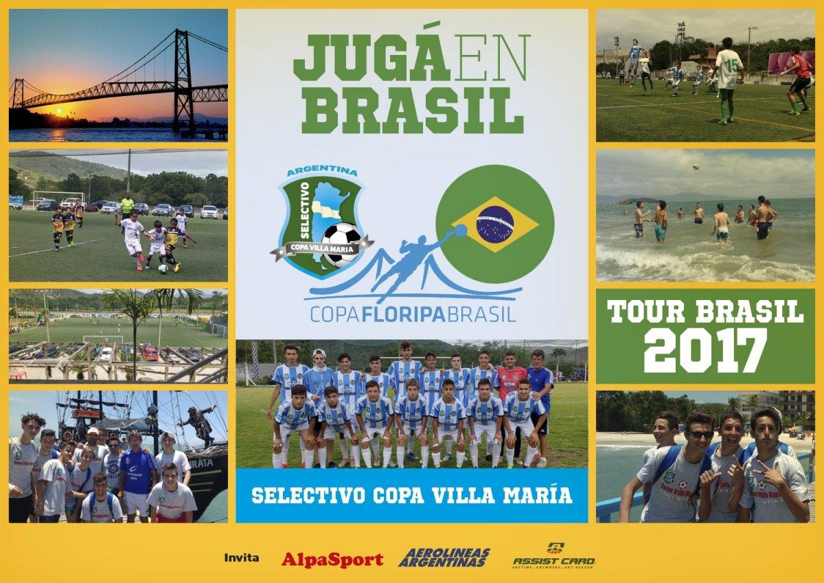 Tour 2017 – Juga En Brasil, Inscribite si sos jugador categoría 2002,  2005 y 2006