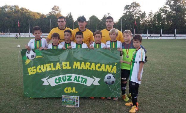 """Ellos Vuelven…La Escuela de Futbol Infantil """"MARACANA"""" de Cruz Alta con sus categorias 2005 y 2006"""