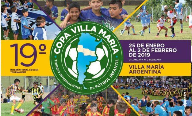 LA COPA VILLA MARIA 2019..YA TIENE FECHA ..Podes inscribir tu Equipo y ver toda la informacion en www.alpasport.com.ar