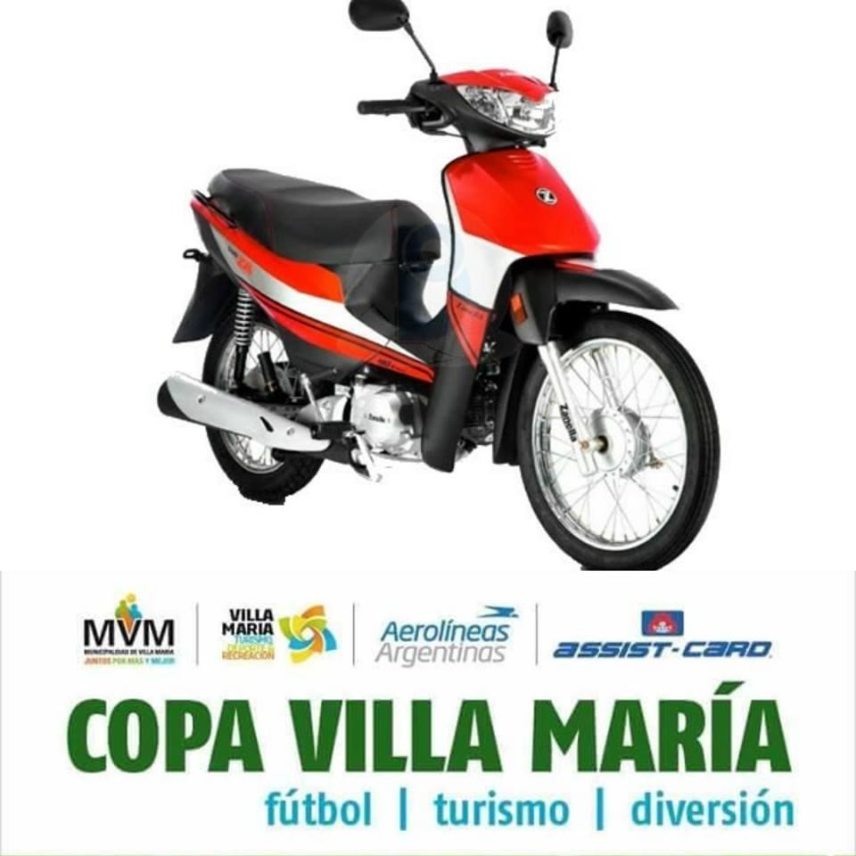 ATENCION..!! El Equipo Campeón de la Copa V.Maria 2019 en   CAT.2008 y CAT.2009, Vuelven a casa en MOTO…