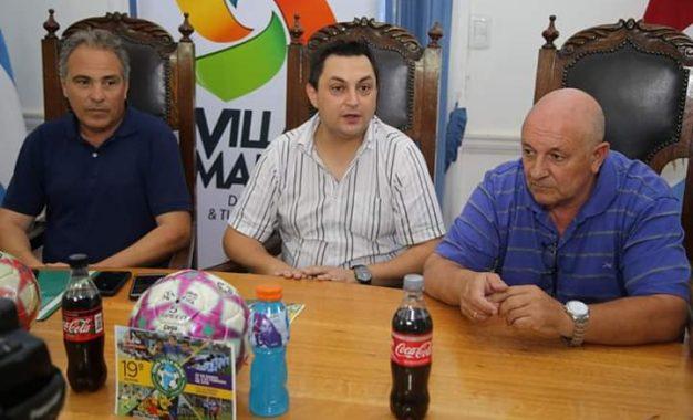 """Conferencia de prensa del """"Mundialito 2019….📣 ⚽ LANZAMIENTO DE LA 19a. """"Copa Villa María 2019"""""""