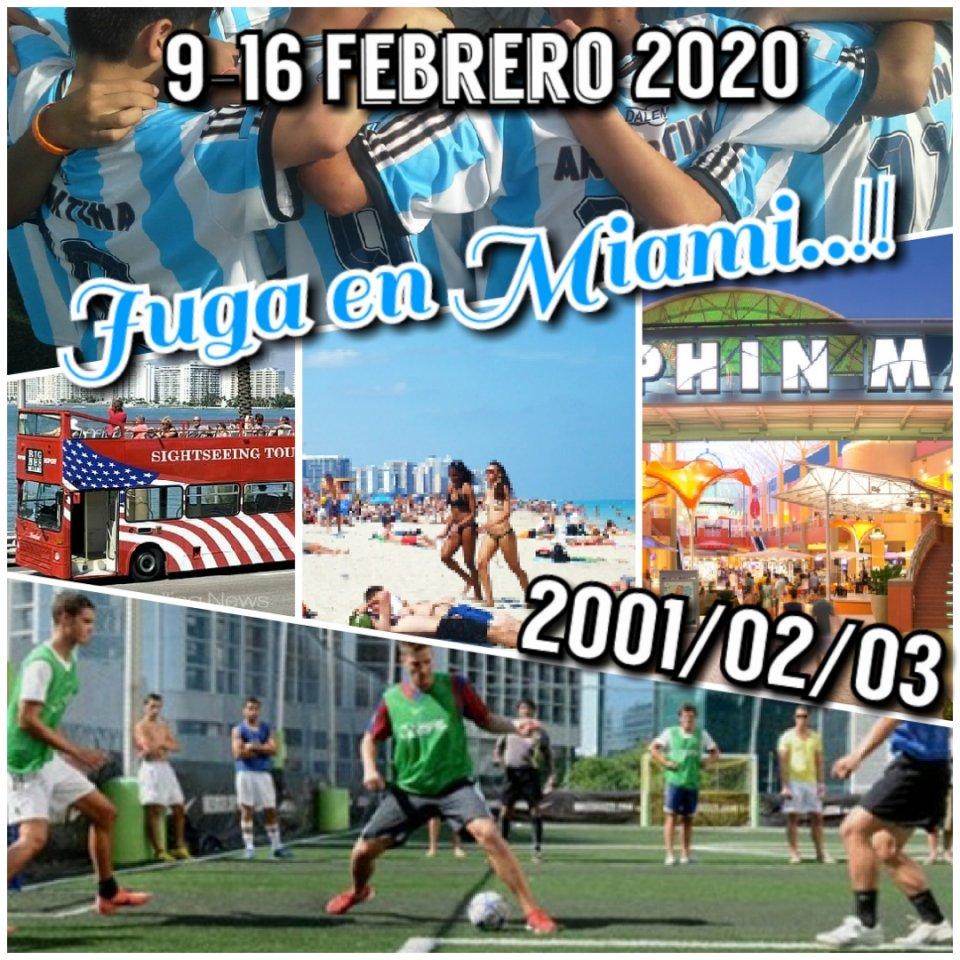 Tour 2020 Juga en USA..!! Íntegra el Selectivo Copa Villa Para jugadores Cat. 2001/2002/2003/2004….